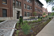 Horticulture Building Rain Garden