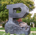 Unfinished Block P Statue